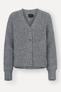 Viggo Cardigan - Light Grey