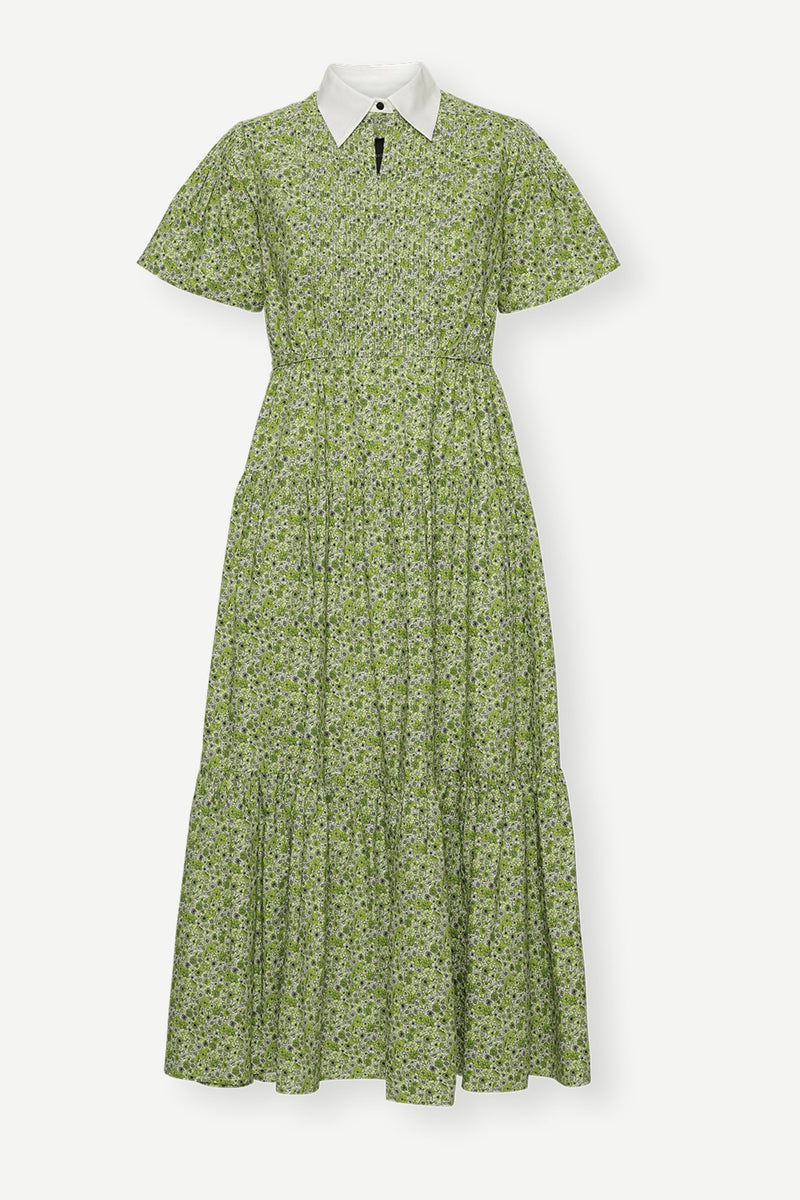 Bella Ltd. Dress - Lime Flower