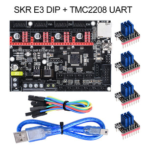 BIGTREETECH SKR mini E3 V1.2 32-bit Control Board With TMC2209 Stepper Drivers for Creality Ender 3