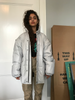 Puffed oversized jacket