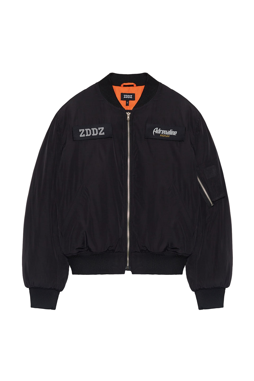 Bomber Jacket 'Safety Curtain' - ZDDZ x Adrenaline Rush Collaboration