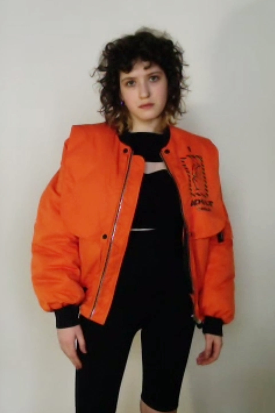 Bomber Jacket Orange