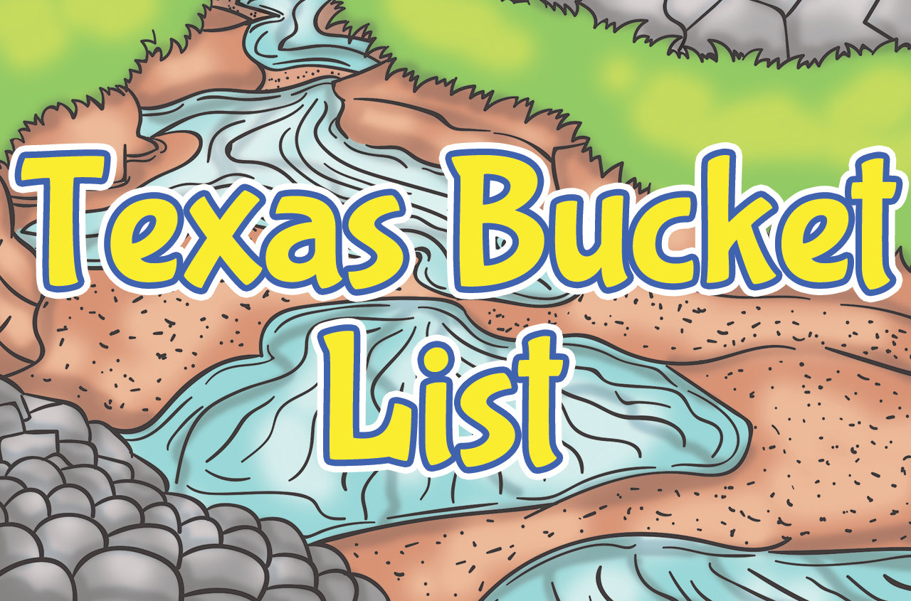 Texas Bucket List Printable Coloring Book 33 Page Pdf Download I Am Beauty Watch Me Soar