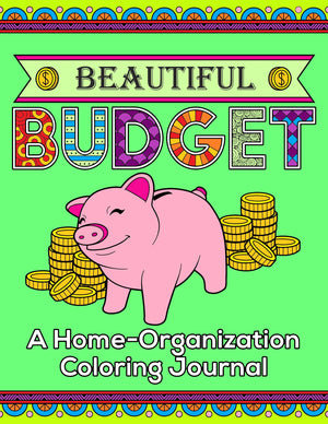 Beautiful Budget Planner - Printable Coloring Journal