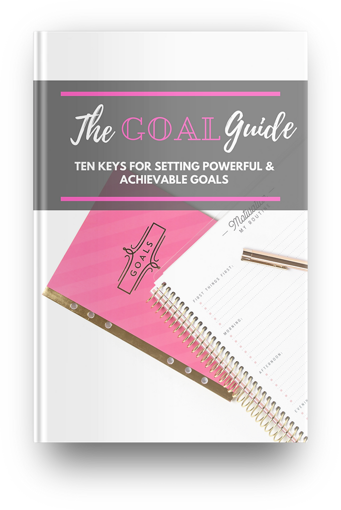The Goal Guide eBook & AudioBook - I Am Beauty Watch Me Soar! Skincare beauty and wellness planner