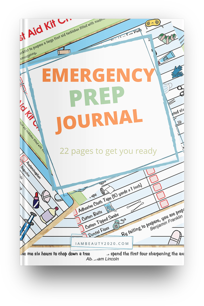 Emergency Prep Printable Coloring Journal