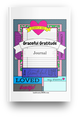 Graceful Gratitude Journal 42-Page Printable Coloring Book PDF