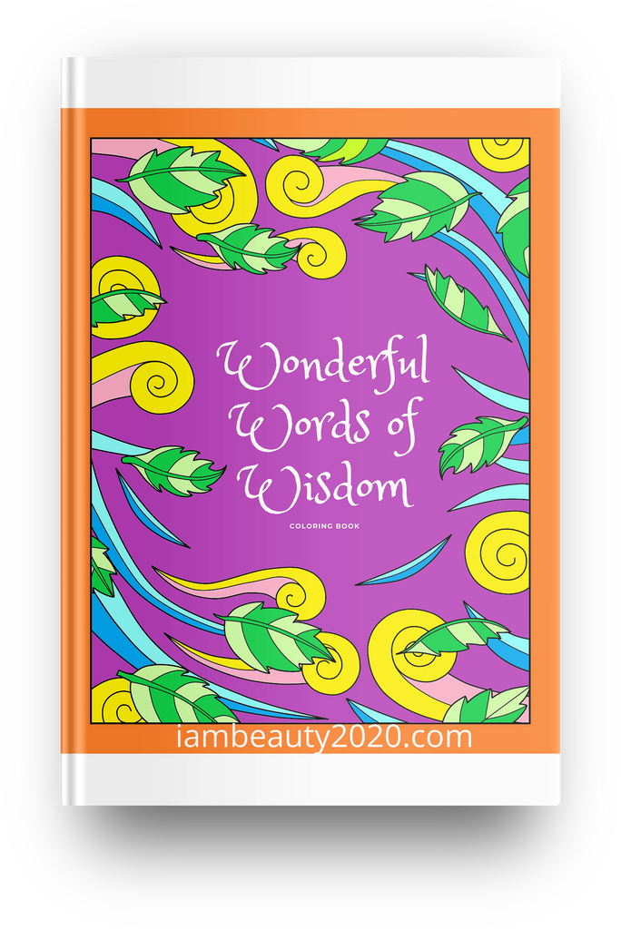 Wonderful Words of Wisdom 57-Page Coloring Book Printable PDF