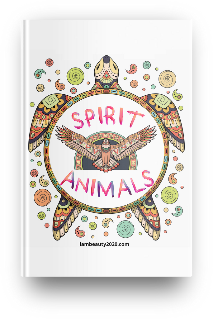 Spirit Animals Precious Coloring Planner - Spirit Animals-Themed Printable and Digital Colorable Planner