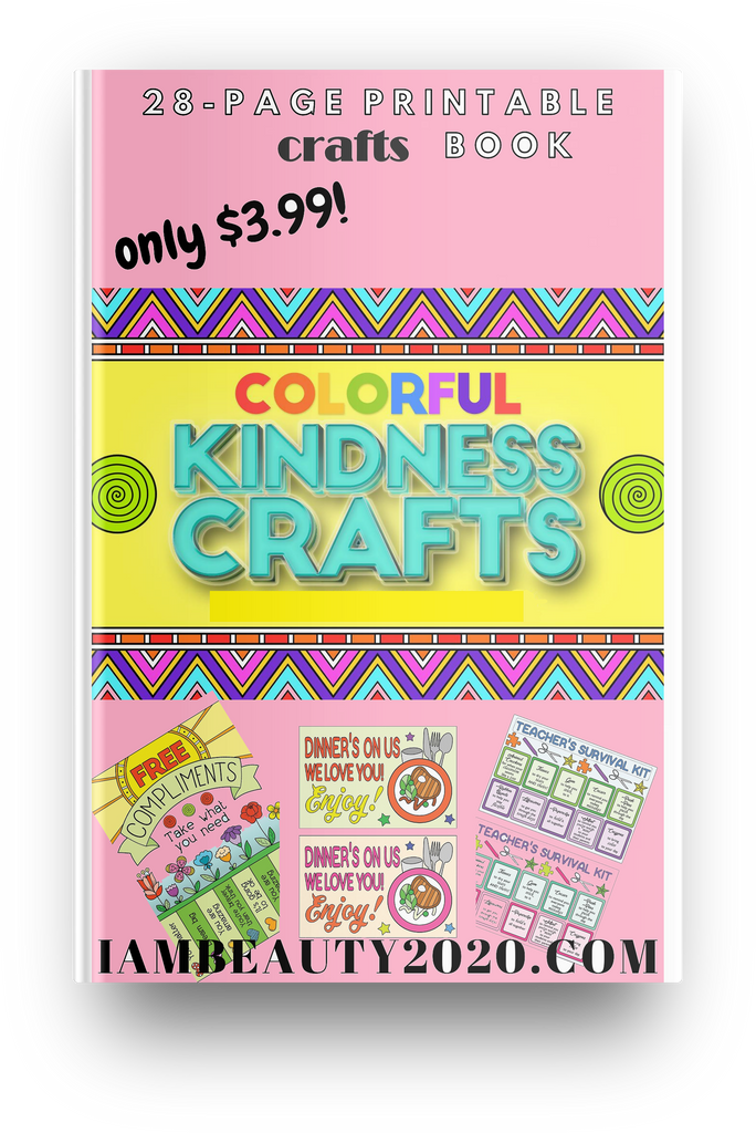 COLORFUL Random Acts of Kindness (RAOK) Kindness Crafts Package