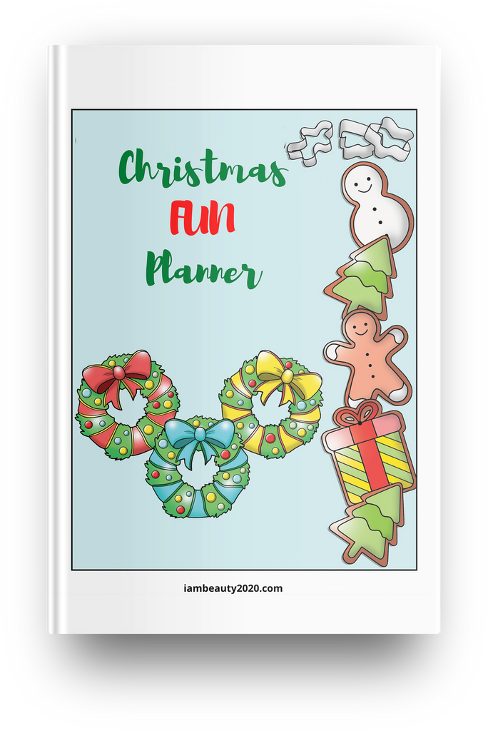 COLORFUL Christmas Fun Planner 11-Page Printable Digital PDF