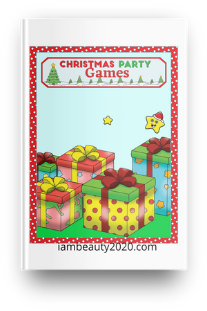 Christmas Party Games 14-Page Printable and Digital PDF Coloring Book