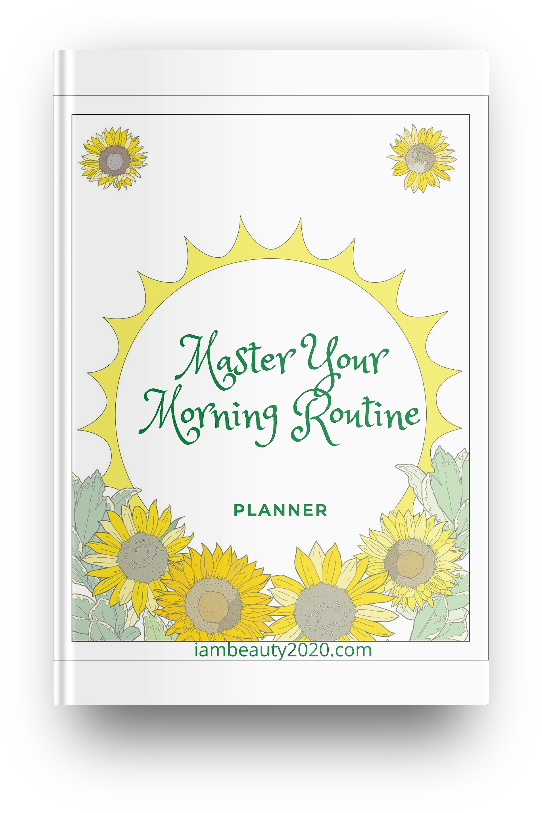 COLORFUL Master Your Morning Routine 20-Page Planner Journal PDF Digital and Printable