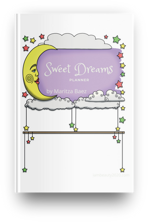 COLORFUL Sweet Dreams Sleep Planner 21-Page Printable Digital PDF
