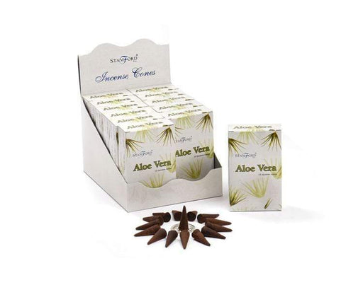 Aloe Vera Incense Cones - GOLDENHANDS