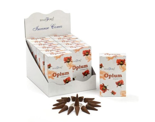 Opium Incense Cones - GOLDENHANDS