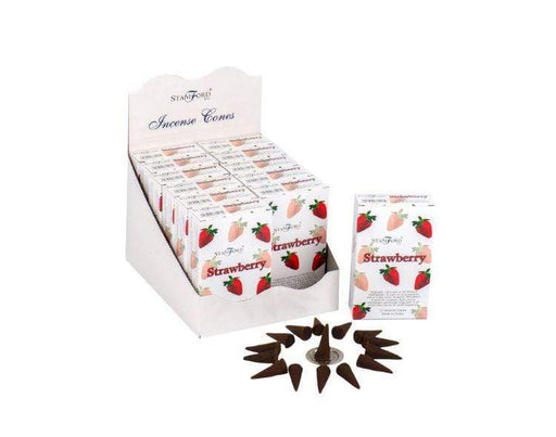 Strawberry Incense Cones - GOLDENHANDS