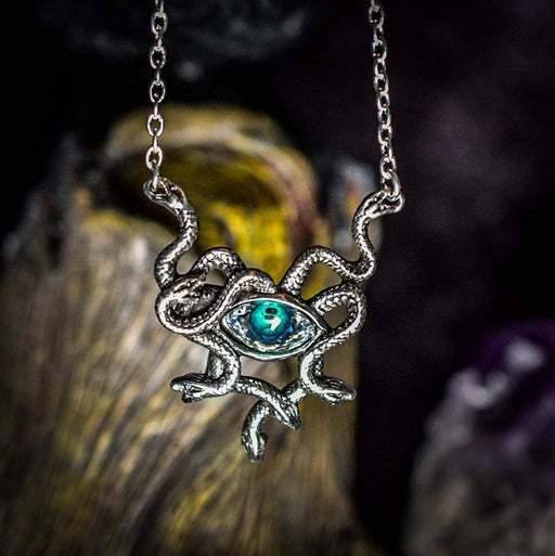 Gorgon's Eye Pendant By Alchemy - GOLDENHANDS