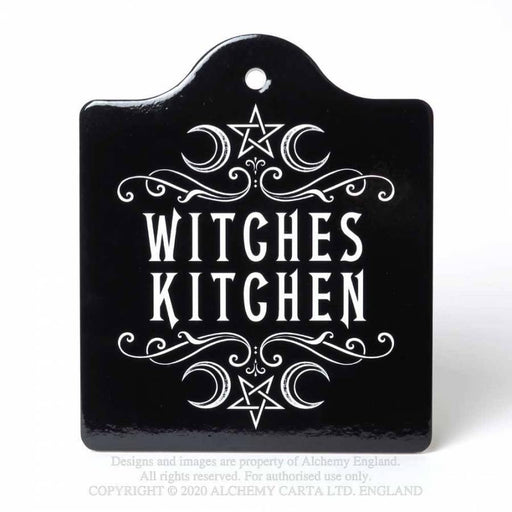 Witches Kitchen Chopping Board/Serving Trivet By Alchemy - GOLDENHANDS