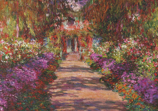 Monet's Garden in Giverny Jigsaw Puzzle - GOLDENHANDS