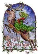 Bright Blessings Card - GOLDENHANDS