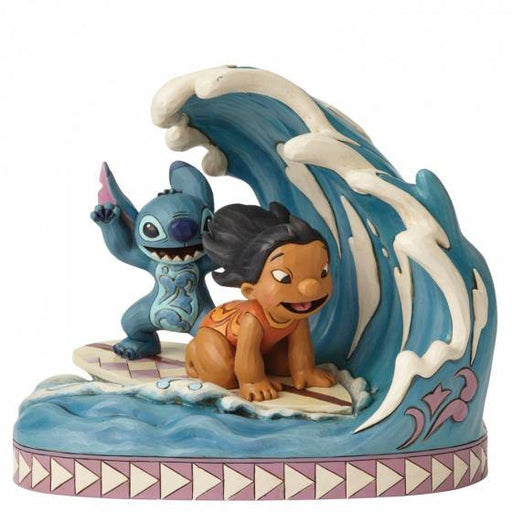 Catch The Wave - Lilo and Stitch 15th Anniversary Disney Figurine From Lilo And Stitch - GOLDENHANDS