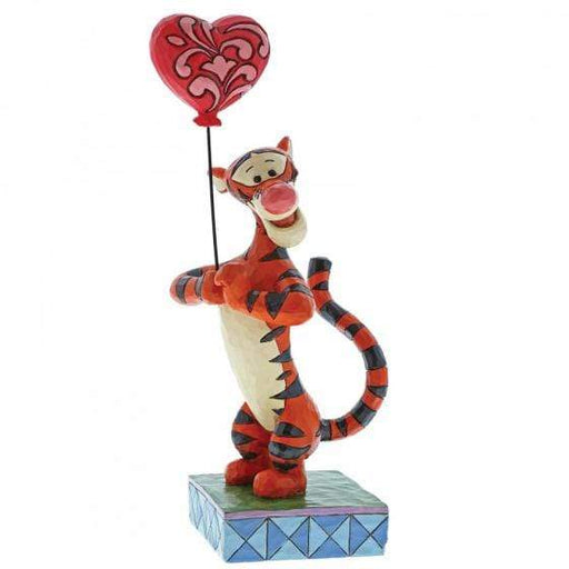 Heartstrings - Tigger with Heart Balloon Disney Figurine From Winnie the Pooh - GOLDENHANDS