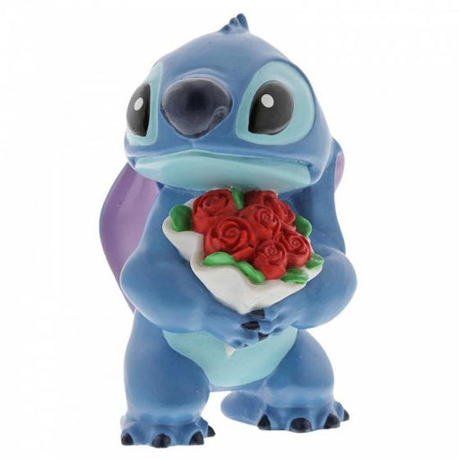 Stitch Flowers - Disney Figurine From Lilo And Stitch - GOLDENHANDS
