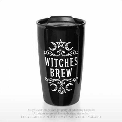 Witches Brew: Double Walled Travel Mug By Alchemy - GOLDENHANDS