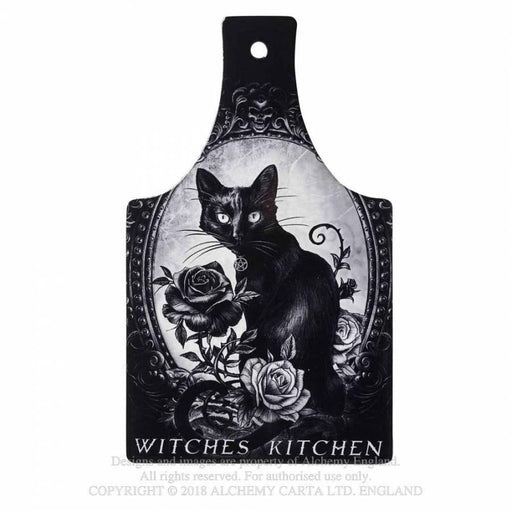Cat's Kitchen Chopping Board/Serving Trivet By Alchemy - GOLDENHANDS