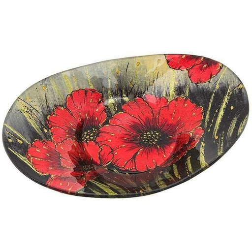 Poppy Oval Bowl Small - GOLDENHANDS