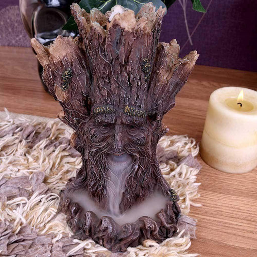 Tree Spirit Backflow Incense Cone Burner - GOLDENHANDS