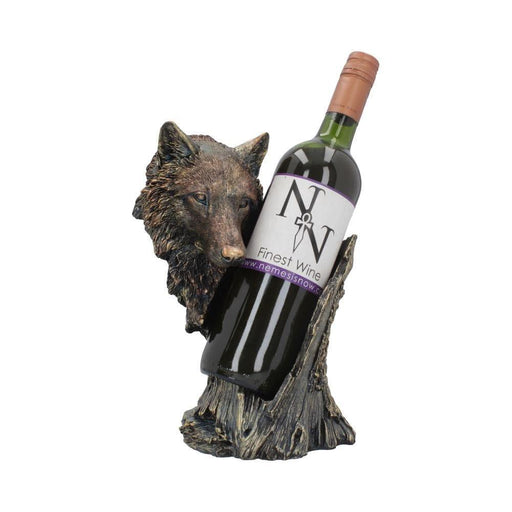 Call of the Wine Wolf Wine Bottle Holder - GOLDENHANDS