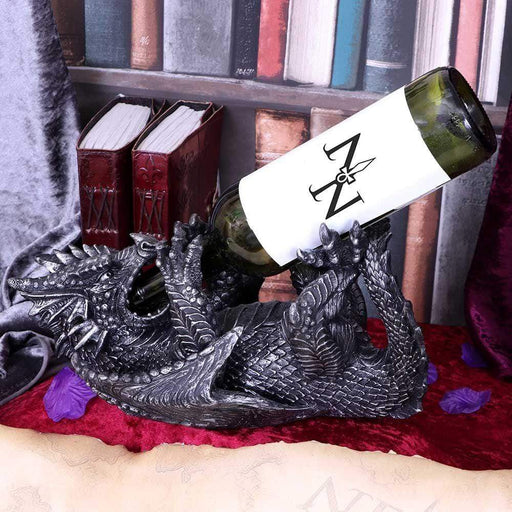 Dragon Guzzler Wine Bottle Holder - GOLDENHANDS
