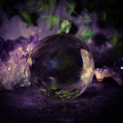 11cm Crystal ball - GOLDENHANDS