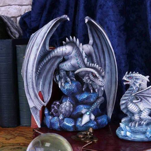 Adult Rock Dragon Figurine By Anne Stokes - GOLDENHANDS