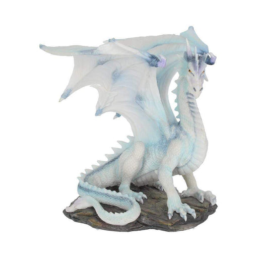 Grawlbane Blue And White Dragon Figurine - GOLDENHANDS