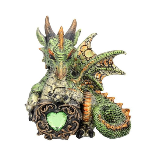 Malachite Dragonling Figurine - GOLDENHANDS