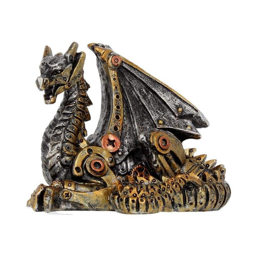 Mechanical Hatchling Dragon Figurine - GOLDENHANDS