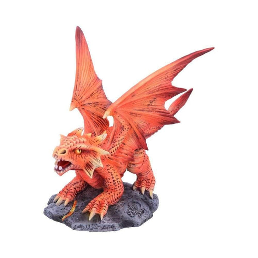 Small Fire Dragon Figurine By Anne Stokes From The Age of Dragons Collection - GOLDENHANDS