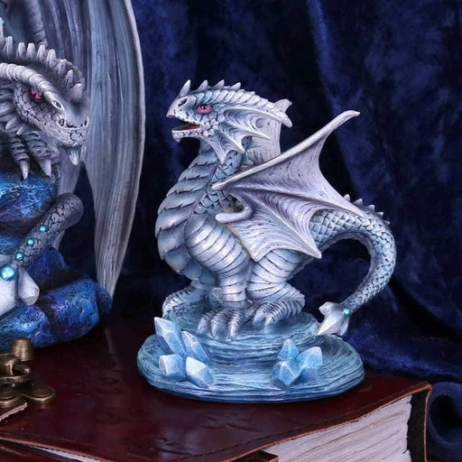 Small Rock Dragon Figurine By Anne Stokes From The Age of Dragons Collection - GOLDENHANDS