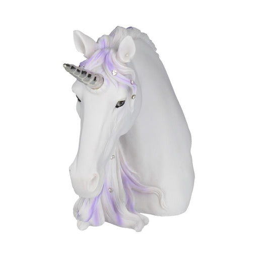 Jewelled Magnificence White Unicorn Ornament - GOLDENHANDS