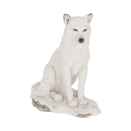 Ghost Wolf Figurine - GOLDENHANDS