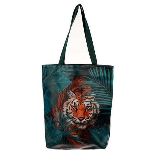 Big Cat Tote Shopping Bag - GOLDENHANDS