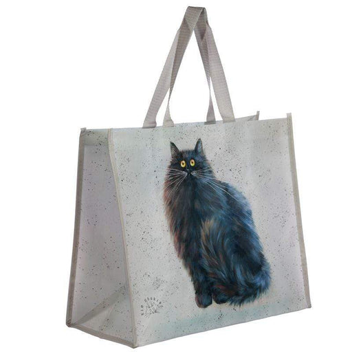 Kim Haskins Black Cat Shopping Bag - GOLDENHANDS