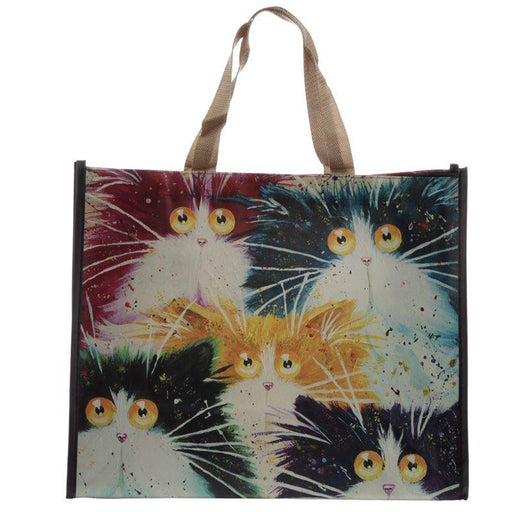 Kim Haskins Cats Shopping Bag - GOLDENHANDS