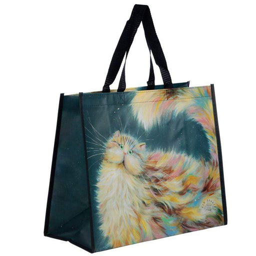 Kim Haskins Rainbow Cat Shopping Bag - GOLDENHANDS