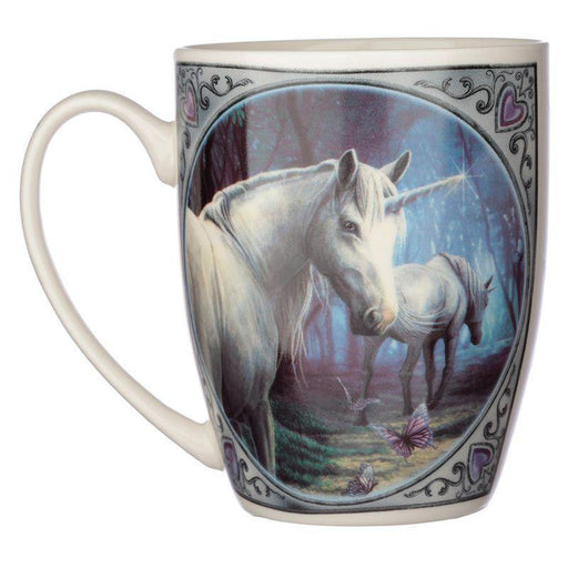 The Journey Home Unicorn Porcelain Mug - GOLDENHANDS
