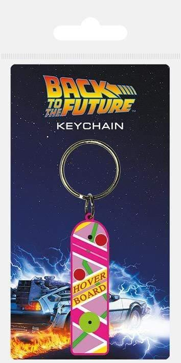 Back To The Future Rubber Keychain - GOLDENHANDS