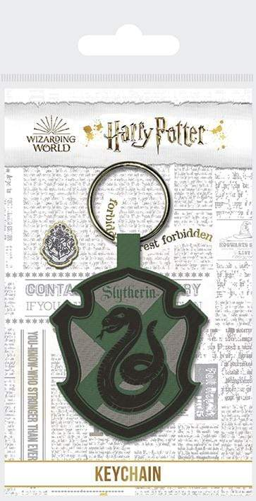 Slytherin Woven Keychain - GOLDENHANDS